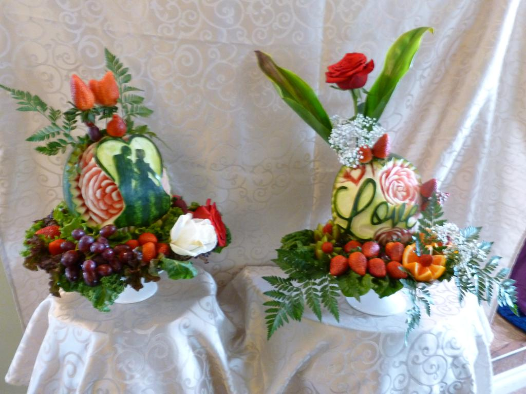 wedding fruit displays eye catching edibles